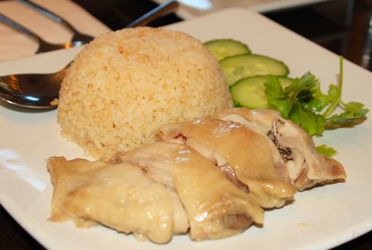 Hainanese Chicken Rice at Sedap